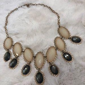 Francesca's Vintage looking statement necklace